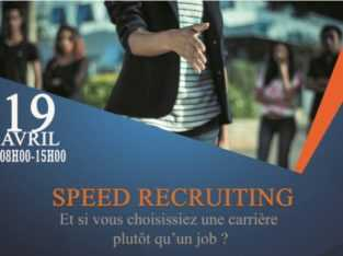 Speed Recruiting 19 Avril 2019